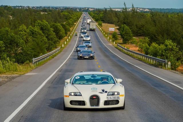 Bugatti của ông Đặng Lê Nguyên Vũ đã trèo đèo, vượt hàng ngàn km từ TP. HCM ra tới Hà Nội như thế nào? - Ảnh 1.