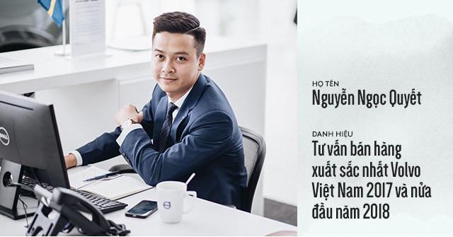 Salesman bán Volvo nhiều nhất Việt Nam tiết lộ bí kíp bán được xe tiền tỷ cho đại gia Việt - Ảnh 1.