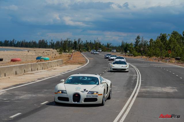 Siêu phẩm Bugatti Veyron đã bảo dưỡng xong, sẵn sàng quay trở lại chặng cuối hành trình xuyên Việt - Ảnh 3.