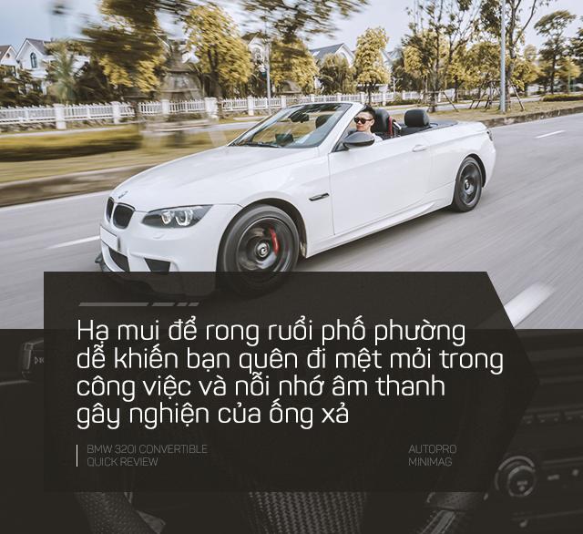 Người dùng cảm nhận nhanh BMW 3-Series Convertible cũ sau 3 năm chạy Mẹc - Ảnh 10.