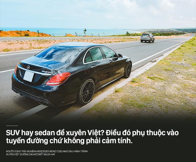 Người dùng trải nghiệm Mercedes-Benz C250 AMG sau hành trình xuyên Việt: Đường dài mới biết ngựa hay - Ảnh 4.