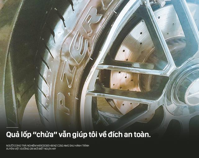 Người dùng trải nghiệm Mercedes-Benz C250 AMG sau hành trình xuyên Việt: Đường dài mới biết ngựa hay - Ảnh 18.