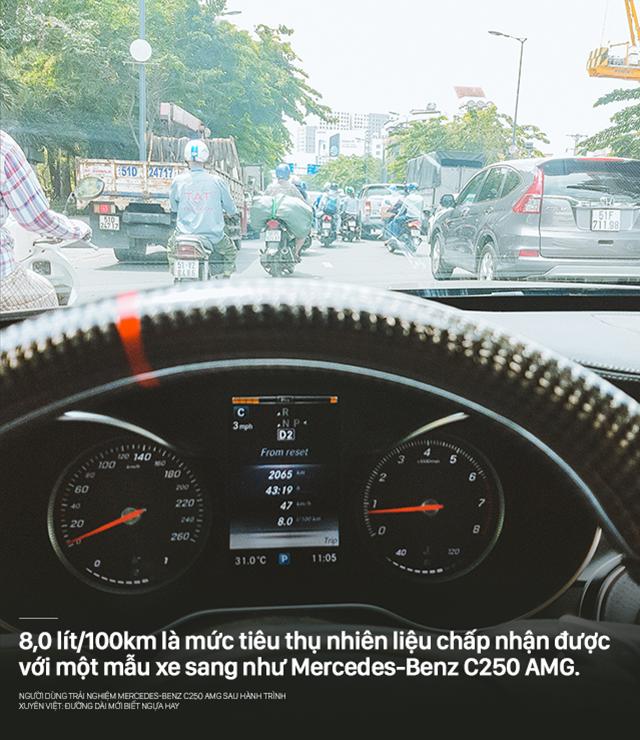 Người dùng trải nghiệm Mercedes-Benz C250 AMG sau hành trình xuyên Việt: Đường dài mới biết ngựa hay - Ảnh 9.