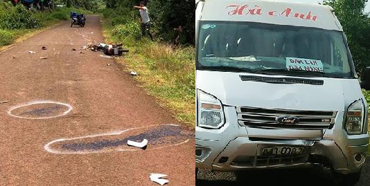 Thực hư việc xe khách cố tình tông chết bé trai học lớp 7 ở Gia Lai - Ảnh 1.