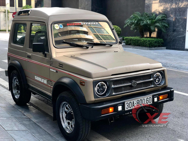 Hàng hiếm Suzuki Samurai 1993 giá gần 300 triệu ở Hà Nội - Ảnh 1.