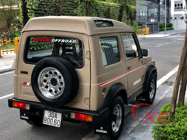 Hàng hiếm Suzuki Samurai 1993 giá gần 300 triệu ở Hà Nội - Ảnh 4.