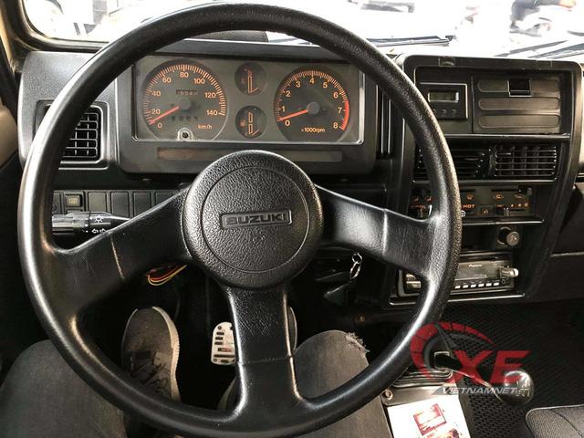 Hàng hiếm Suzuki Samurai 1993 giá gần 300 triệu ở Hà Nội - Ảnh 7.