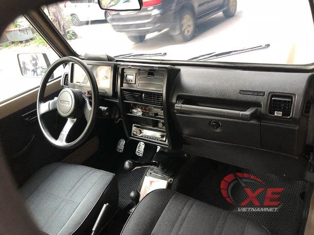 Hàng hiếm Suzuki Samurai 1993 giá gần 300 triệu ở Hà Nội - Ảnh 8.