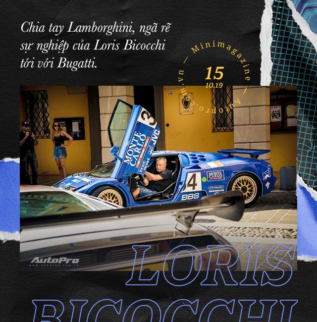 Loris Bicocchi Tu bo hoc lam thu kho toi chuyen gia lai thu cac sieu xe khet tieng nhat the gioi