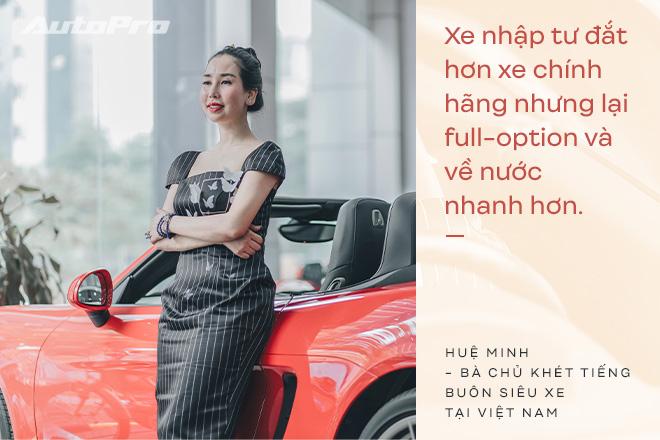 Bà chủ khét tiếng buôn siêu xe tại Việt Nam: Nhiều lần muốn bỏ nghề nhưng được hậu phương ủng hộ để theo đuổi đam mê - Ảnh 13.