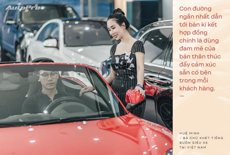 Bà chủ khét tiếng buôn siêu xe tại Việt Nam: Nhiều lần muốn bỏ nghề nhưng được hậu phương ủng hộ để theo đuổi đam mê - Ảnh 15.