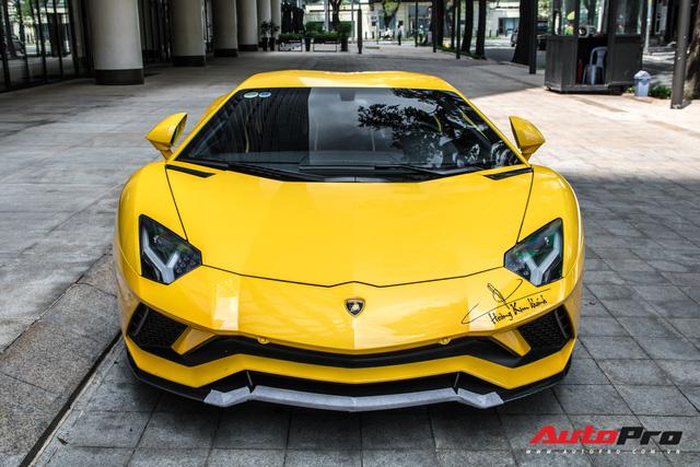 Lamborghini Aventador S 45 tỷ của đại gia Hoàng Kim Khánh bất ngờ xuất hiện tại Sài Gòn - Ảnh 1.