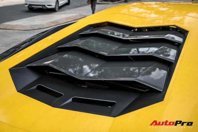 Lamborghini Aventador S 45 tỷ của đại gia Hoàng Kim Khánh bất ngờ xuất hiện tại Sài Gòn - Ảnh 8.