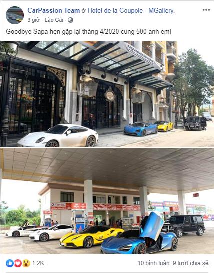 Hành trình đi Sapa của Cường Đô-la xuất hiện thêm hai mẫu xe mới, nhá hàng hành trình siêu xe sắp diễn ra vào 2020 - Ảnh 3.