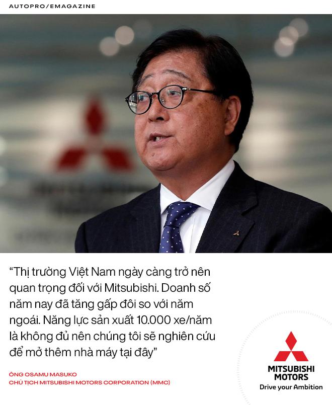 Mitsubishi Việt Nam: 25 năm từ thuở bình minh tới kẻ thay đổi cuộc chơi - Ảnh 10.
