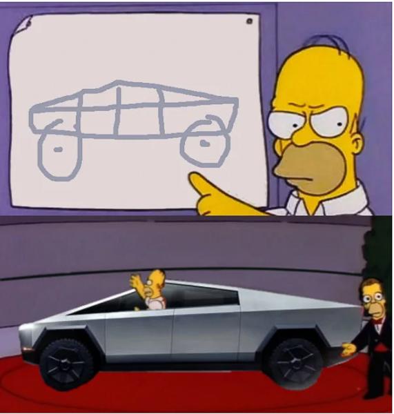 Xe bán tải siêu bền của tỷ phú Elon Musk bị dân mạng chế ảnh châm biếm - Ảnh 6.