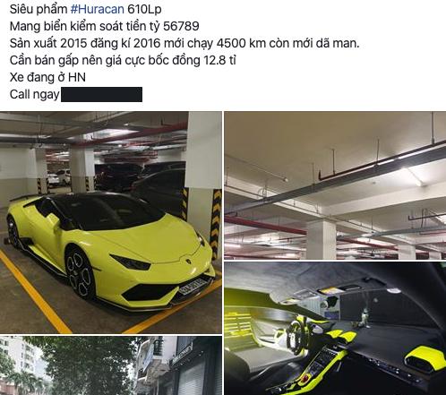Cần bán gấp, Lamborghini Huracan biển khủng 567.89 rao giá hơn 12 tỷ đồng - Ảnh 2.