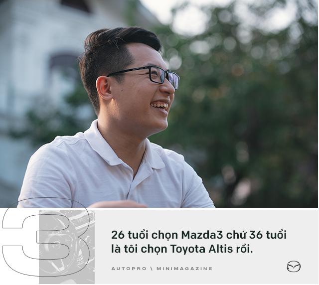 Lương 10 triệu/tháng nuôi Mazda3 trong 2 năm, người dùng đánh giá: Trải nghiệm vậy là đủ rồi, không cần lên đời mới - Ảnh 2.