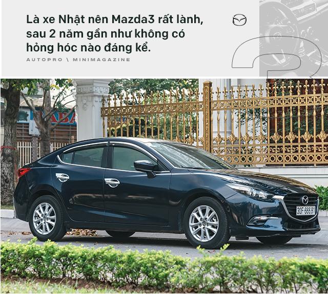 Lương 10 triệu/tháng nuôi Mazda3 trong 2 năm, người dùng đánh giá: Trải nghiệm vậy là đủ rồi, không cần lên đời mới - Ảnh 4.
