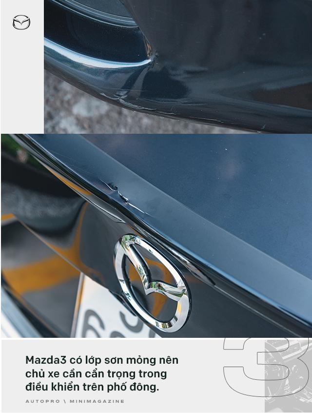 Lương 10 triệu/tháng nuôi Mazda3 trong 2 năm, người dùng đánh giá: Trải nghiệm vậy là đủ rồi, không cần lên đời mới - Ảnh 5.