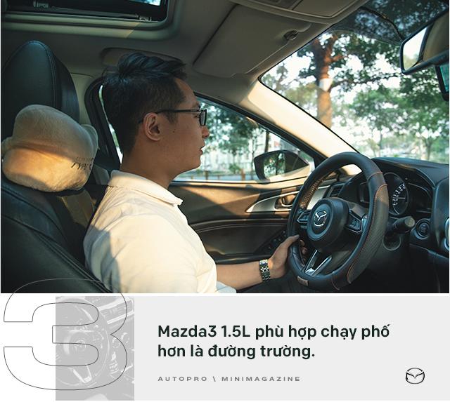 Lương 10 triệu/tháng nuôi Mazda3 trong 2 năm, người dùng đánh giá: Trải nghiệm vậy là đủ rồi, không cần lên đời mới - Ảnh 7.