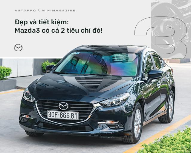 Lương 10 triệu/tháng nuôi Mazda3 trong 2 năm, người dùng đánh giá: Trải nghiệm vậy là đủ rồi, không cần lên đời mới - Ảnh 15.
