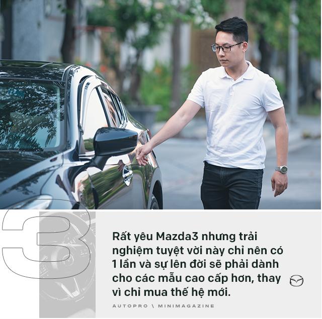 Lương 10 triệu/tháng nuôi Mazda3 trong 2 năm, người dùng đánh giá: Trải nghiệm vậy là đủ rồi, không cần lên đời mới - Ảnh 17.