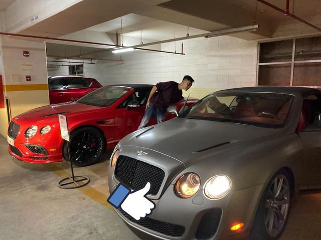 Bộ đôi Bentley hàng độc xuất hiện trong hầm chung cư ở Sài Gòn - chiếc màu xám từng một thời làm nức lòng giới đại gia Việt - Ảnh 1.