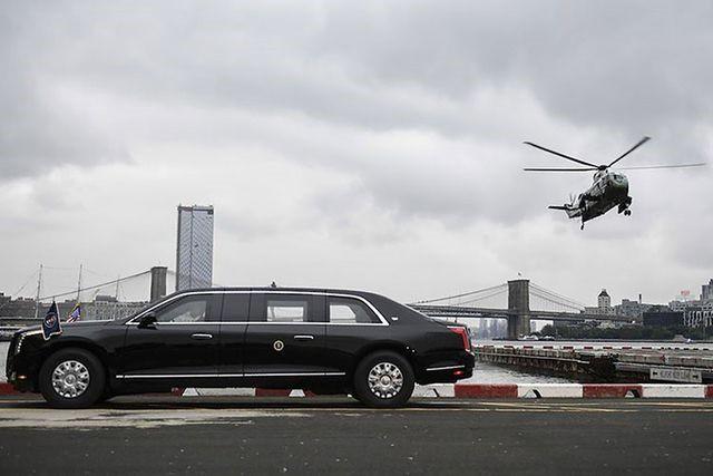 Tổng thống Mỹ sắp đến Việt Nam, xem chuyên xa của ông Trump hiện đại cỡ nào? - Ảnh 1.