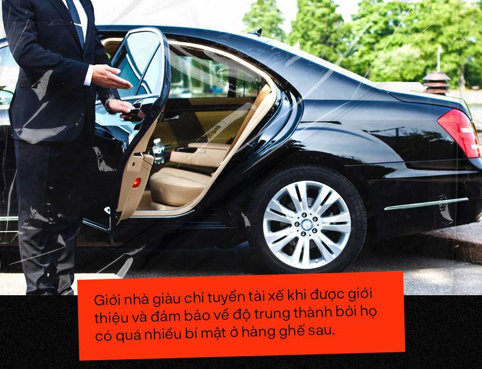 Bí ẩn cay đắng sau nghề lái xe cho nhà giàu: Giữ kín những chuyện quái đản và những đồng lương thách thức bản lĩnh - Ảnh 3.