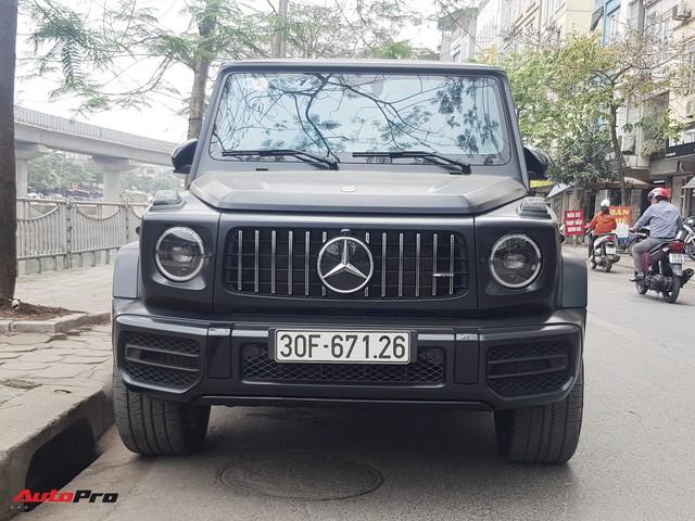 Bắt gặp Mercedes-AMG G63 Edition 1 đời mới đầu tiên Hà Nội ra biển số xuống phố dịp cuối tuần - Ảnh 1.