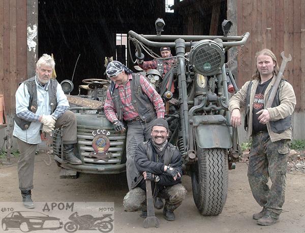 Xe máy dùng động cơ xe tăng nặng nhất thế giới thách thức dân chơi - Ảnh 3.