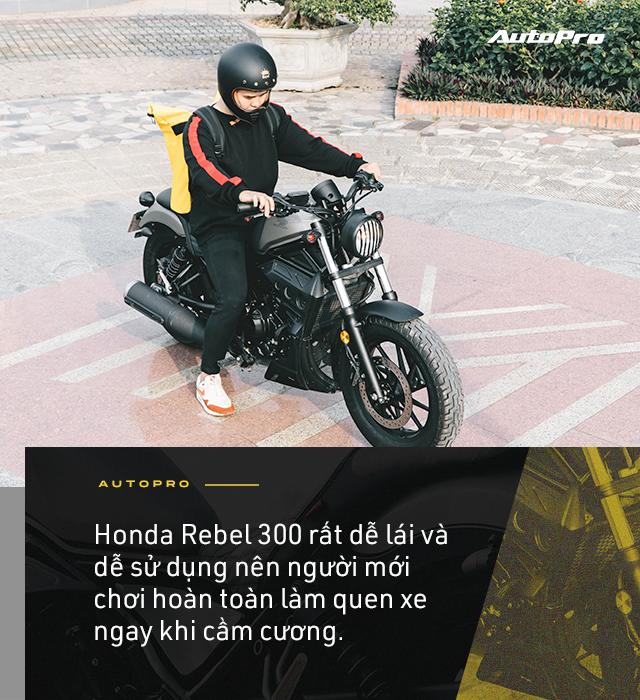 Designer 9x Hà thành dùng 3 đời SH và câu chuyện chọn Honda Rebel 300 đầy mạo hiểm - Ảnh 12.