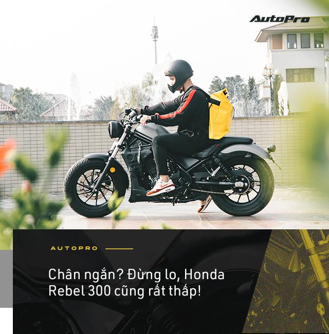 Designer 9x Hà thành dùng 3 đời SH và câu chuyện chọn Honda Rebel 300 đầy mạo hiểm - Ảnh 13.