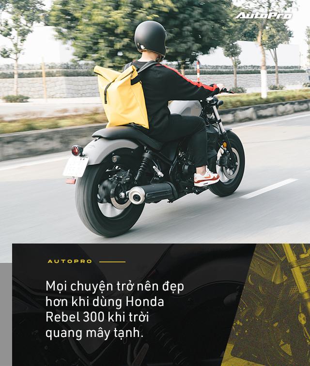 Designer 9x Hà thành dùng 3 đời SH và câu chuyện chọn Honda Rebel 300 đầy mạo hiểm - Ảnh 15.