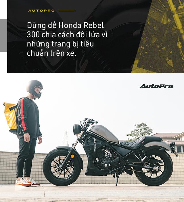 Designer 9x Hà thành dùng 3 đời SH và câu chuyện chọn Honda Rebel 300 đầy mạo hiểm - Ảnh 17.