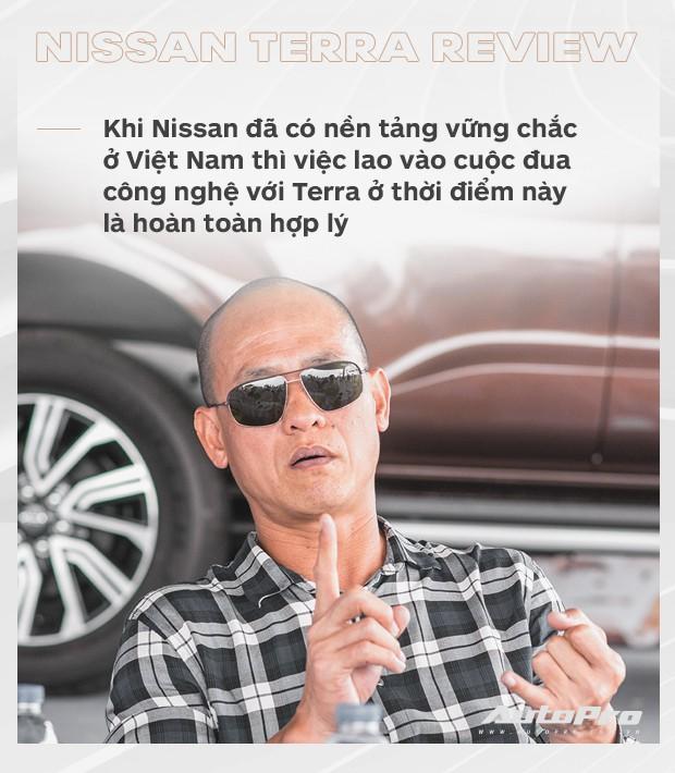 Chuyên gia Hải Kar đánh giá Nissan Terra: Bất ngờ hơn những con số trên giấy! - Ảnh 7.