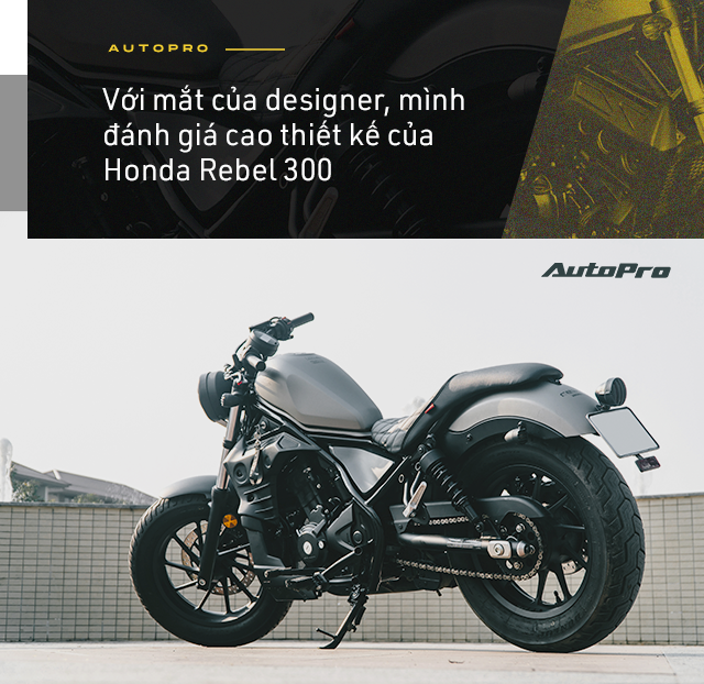 Designer 9x Hà thành dùng 3 đời SH và câu chuyện chọn Honda Rebel 300 đầy mạo hiểm - Ảnh 7.