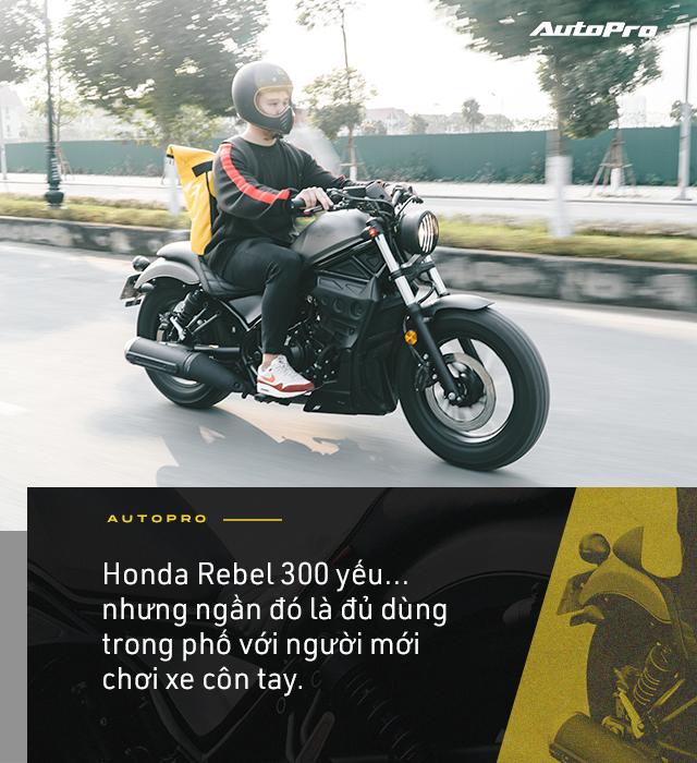 Designer 9x Hà thành dùng 3 đời SH và câu chuyện chọn Honda Rebel 300 đầy mạo hiểm - Ảnh 8.