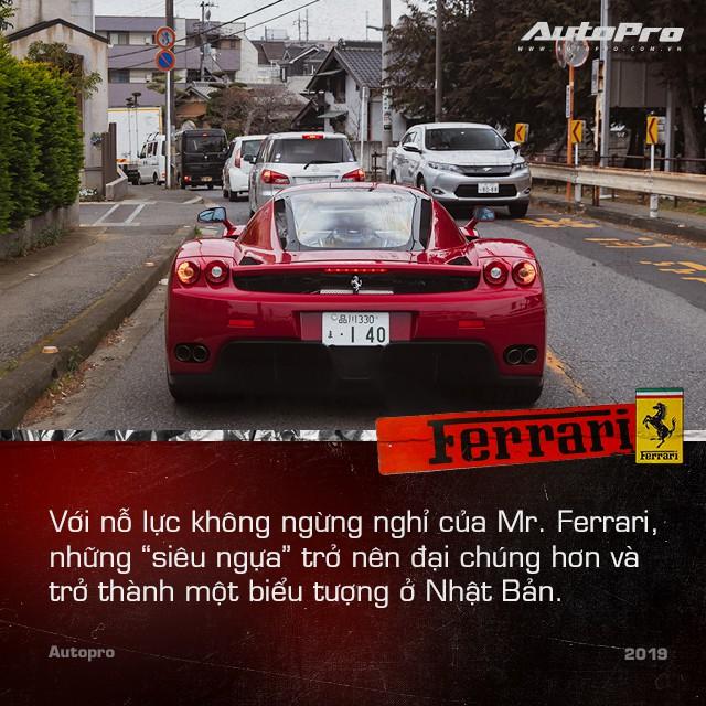 Mr. Ferrari - Từ tay chơi siêu xe tới cha đỡ đầu của 'ngựa chồm' tại Nhật Bản - Ảnh 5.