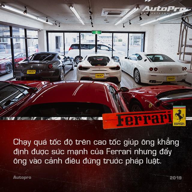Mr. Ferrari - Từ tay chơi siêu xe tới cha đỡ đầu của 'ngựa chồm' tại Nhật Bản - Ảnh 8.