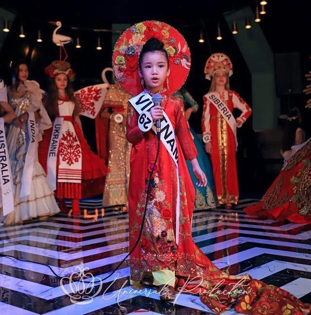 Hoa hậu hoàn vũ nhí 2019 được đón bằng xe sang dát vàng khi trở về Việt Nam - Ảnh 5.