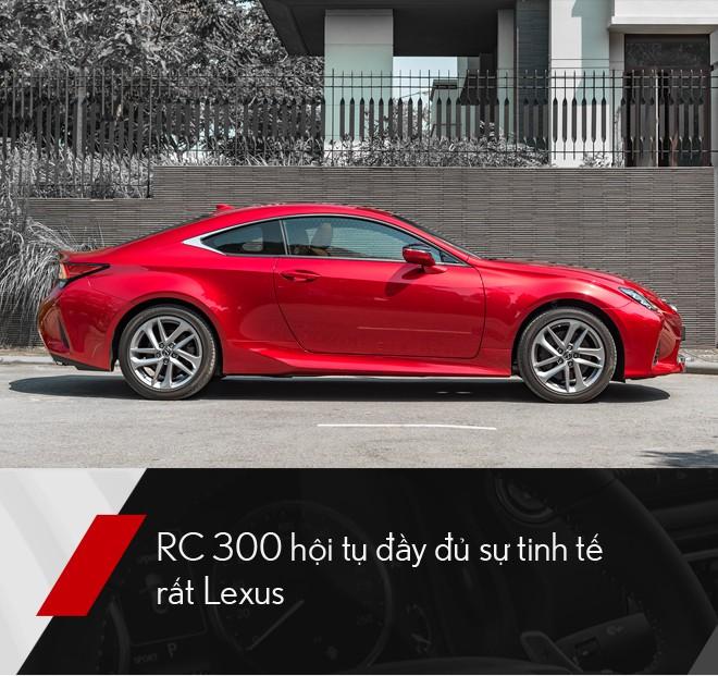 Đánh giá Lexus RC 300: Xe thể thao mang quá nhiều bất ngờ, đốn tim cả nữ giới - Ảnh 8.