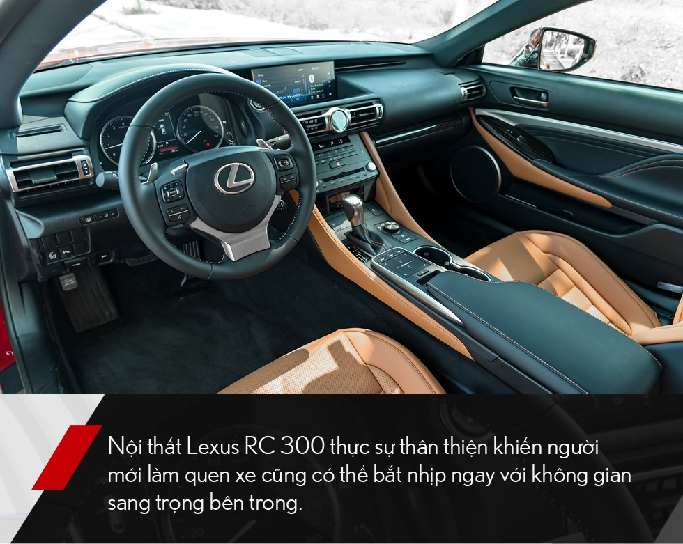 Đánh giá Lexus RC 300: Xe thể thao mang quá nhiều bất ngờ, đốn tim cả nữ giới - Ảnh 9.