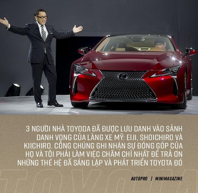 Cha truyền, con nối nhưng đời cháu nhà sáng lập Toyota đã giấu nhẹm thân thế để lột xác hãng xe Nhật như thế nào? - Ảnh 13.