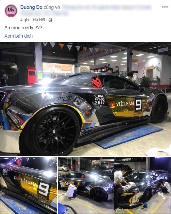 Thiếu gia Dương Kon tiết lộ hình ảnh cho thấy sẽ mang McLaren 650S Spider độ siêu độc tham gia Car Passion 2019 - Ảnh 2.
