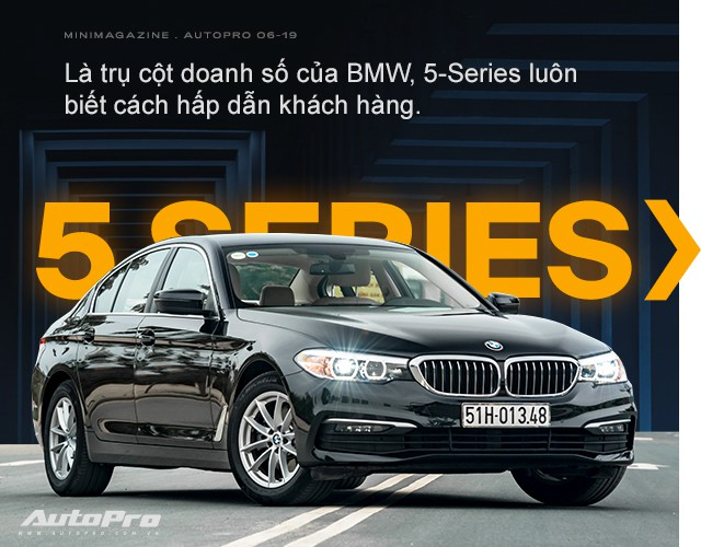 BMW 5-Series - Mẫu xe hoàn hảo dành cho doanh nhân hiện đại - Ảnh 1.