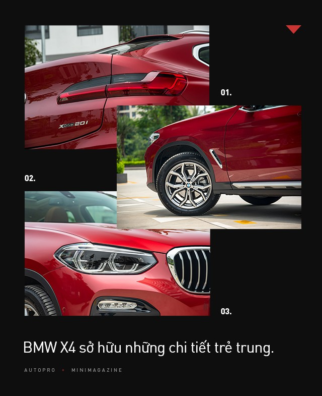 Đánh giá BMW X4: SUV cá tính chiều được số đông - Ảnh 4.