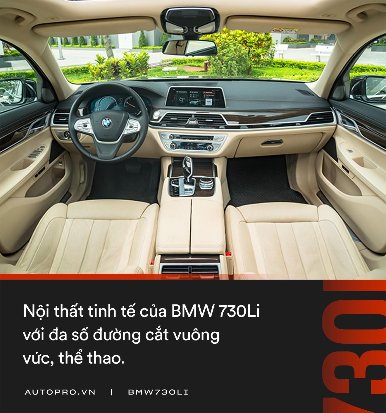 Đánh giá BMW 730Li: Mang chất thể thao lên limo hạng sang - Ảnh 5.