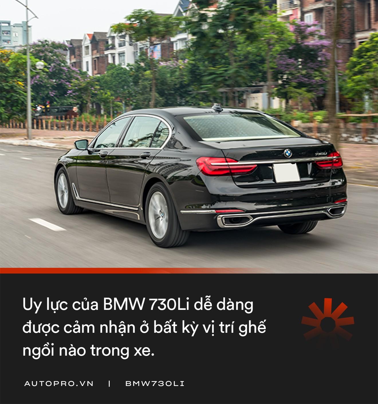 Đánh giá BMW 730Li: Mang chất thể thao lên limo hạng sang - Ảnh 10.